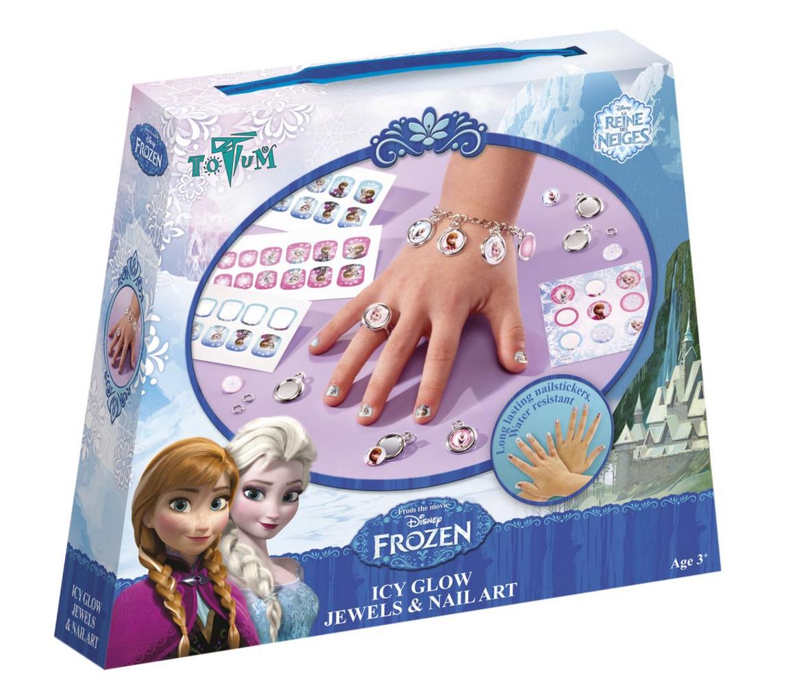 frozen nagels nagellak nagelstickers