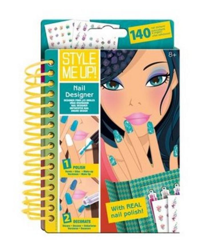 nagels lakken papier schetsboek style me up
