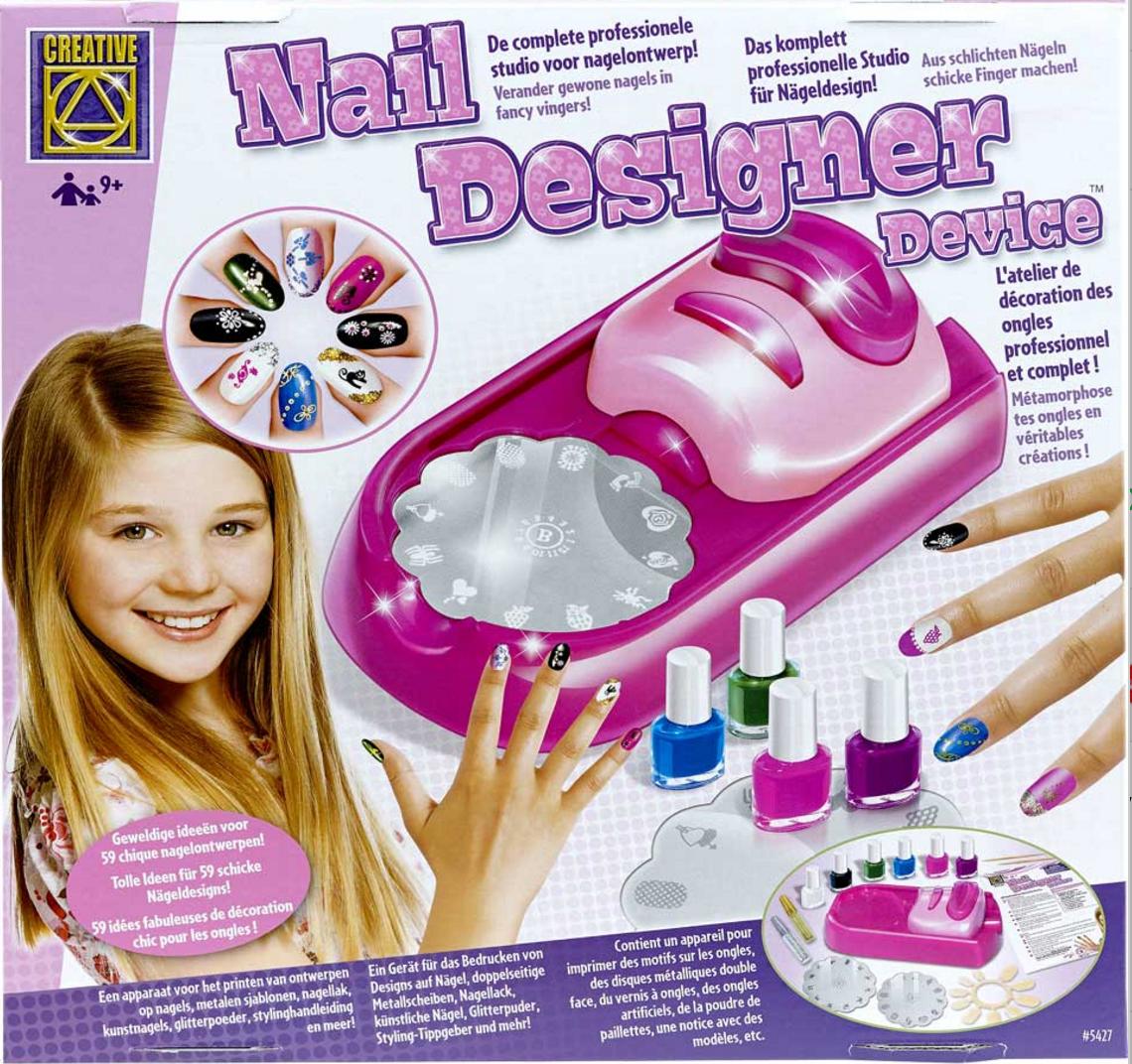 stempel nagels nagellak cadeau idee