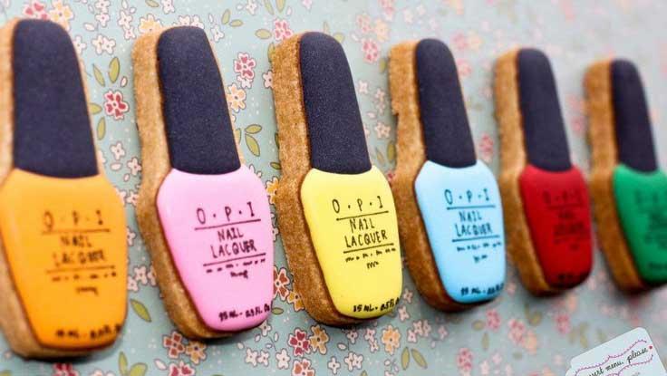 nagellak originele koekjes bakken opi
