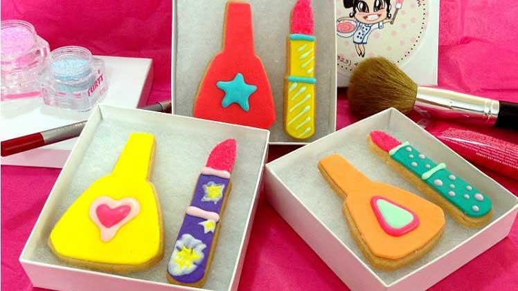 nagellak koekjes bakken origineel