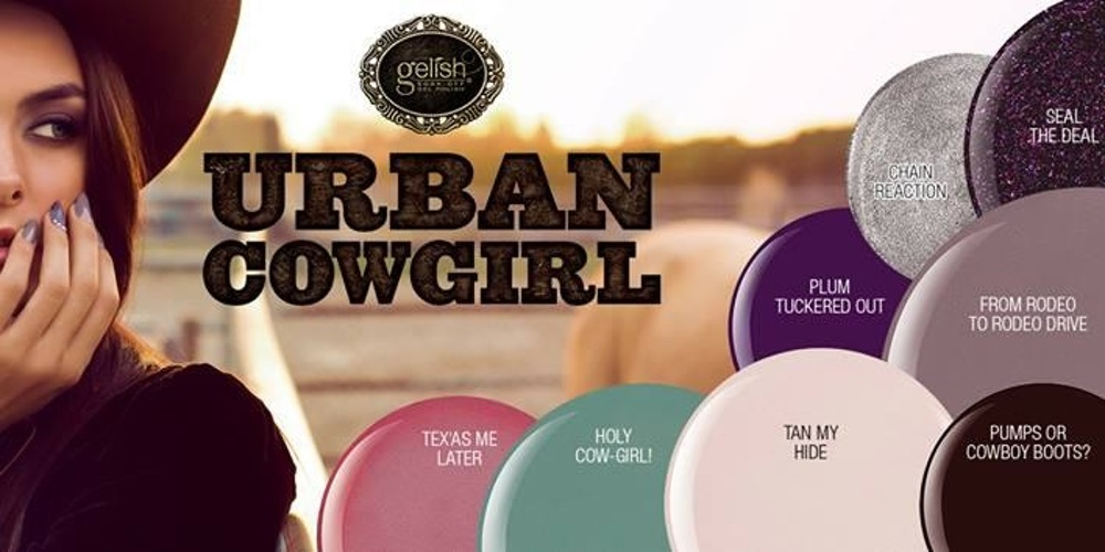 Gelish urban cowgirl gel polish