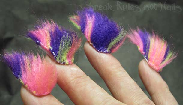 furry nails trend 2