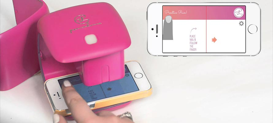 nailbot printer nagels nail art